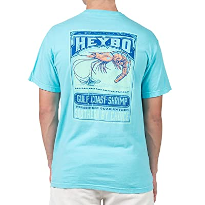 Heybo Southern By Choice Gulf Coast Shrimp T-Shirt | .com
