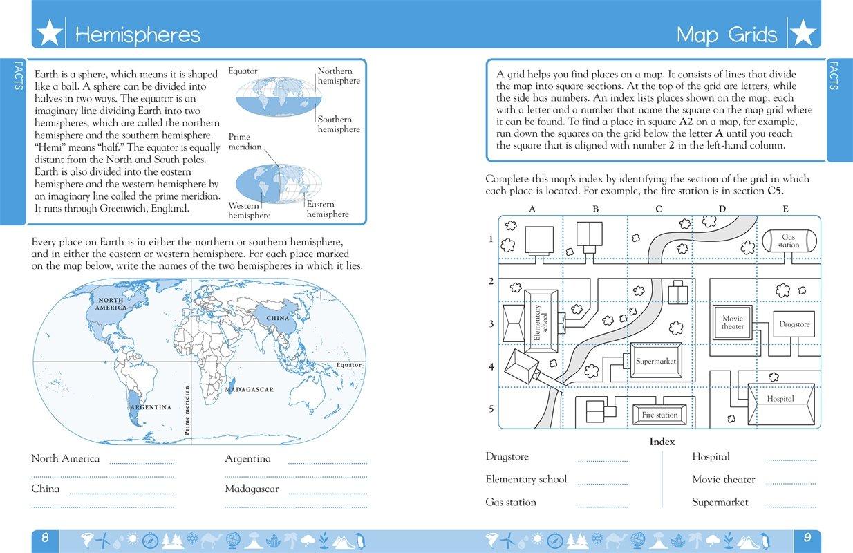 DK Workbooks: Geography, Second Grade: DK: 9781465428486: Amazon.com ...
