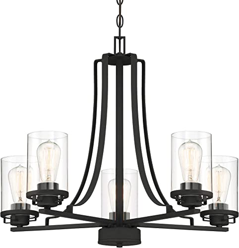 Designers Fountain 93385-BK Jedrek Chandelier, Black