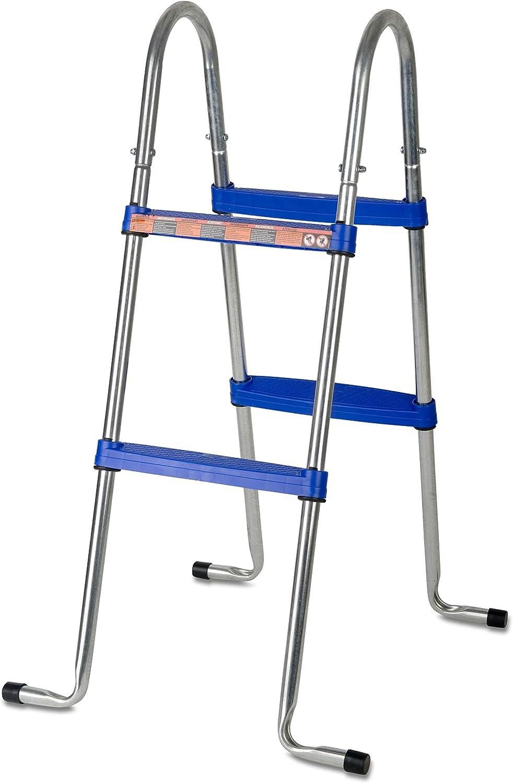 Gre AR109 - Escalera para Piscina Elevada, 98 cm: Amazon.es: Jardín