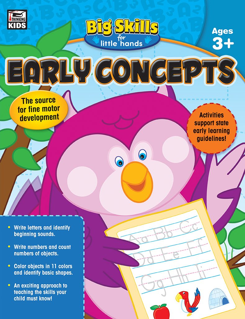 Amazon.com: Early Concepts, Ages 3 - 5 (Big Skills for Little Hands ...