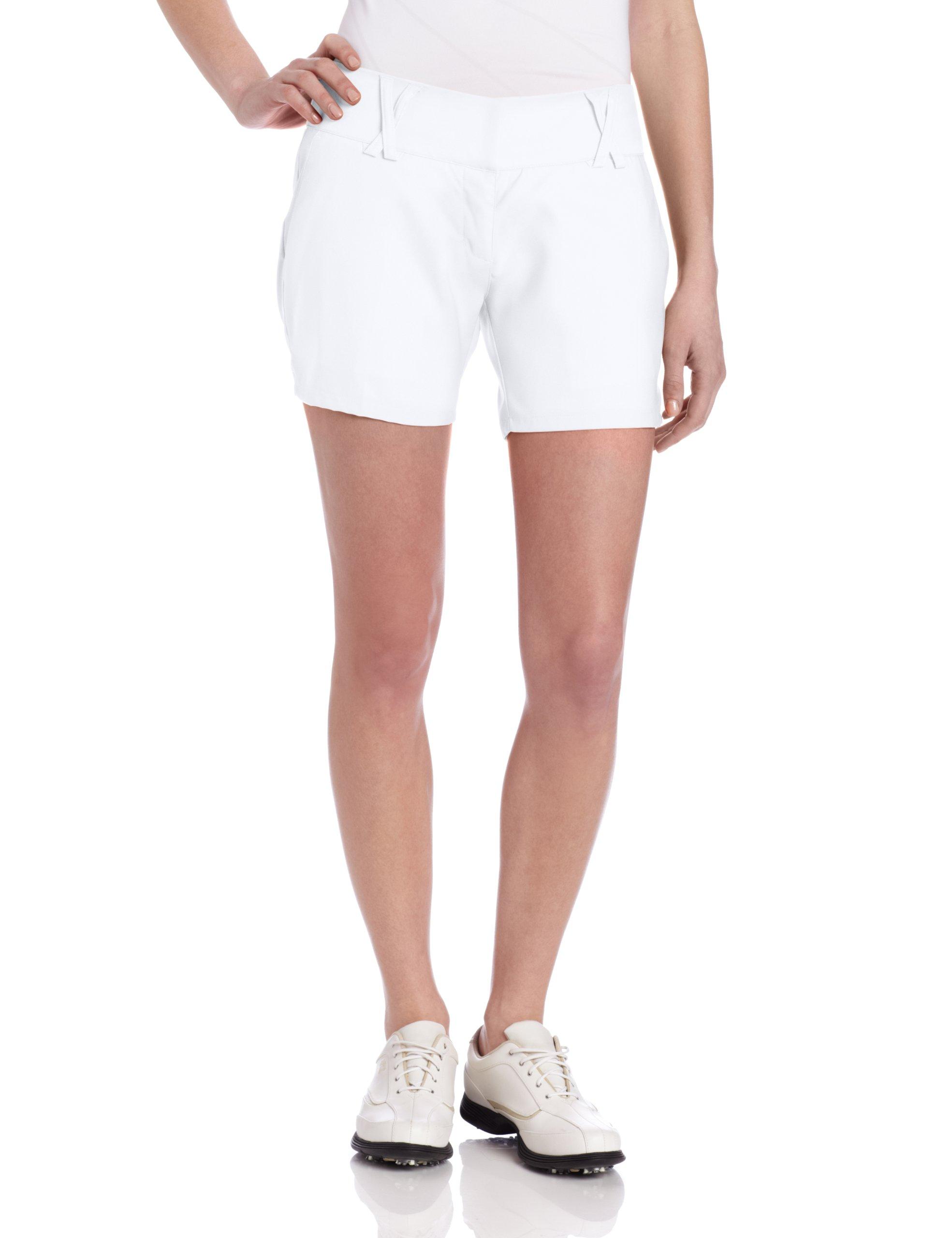 adidas Climalite Stretch Novelty Short, 14-Inch, White