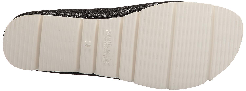 Gentle Souls Women's Demi Slip White Eva Bottom B(M) Ballet Flat B074N4DH12 8.5 B(M) Bottom US|Black 657216