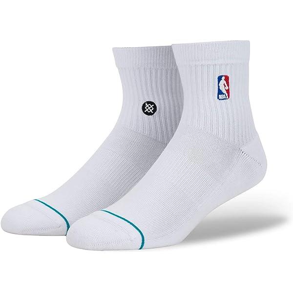 Stance NBA Logoman Crew II Calcetines, Hombre, Azul Cobalto ...