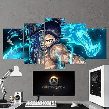 : Game Wall Art Overwatch Wandbild, Overwatch Hanzo