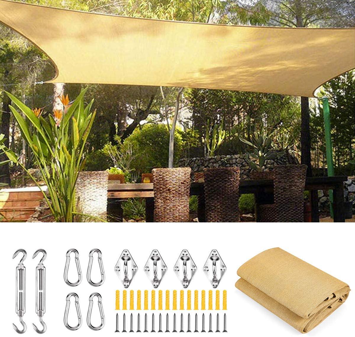 WISKEO Shade Cloth - Toldo para balcón (Resistente y Estable ...