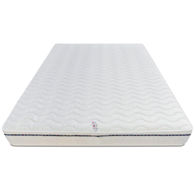 Baldiflex Materasso singolo in Memory Foam 80x190 alto 23cm con Rivestimento Anallergico e Antiacaro ideale per letto singolo in memory foam da 4 cm trapuntato e waterfoam da 17 cm, Materasso Amazonia Top