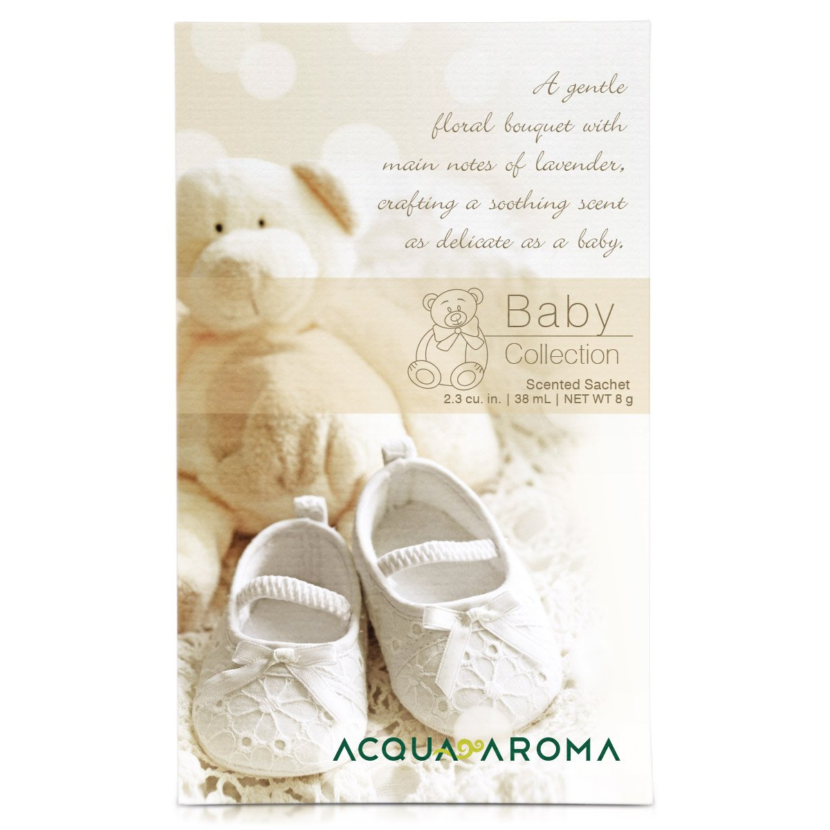 38mL//8g Acqua Aroma Baby Collection Scented Sachet 2.3 cu in.