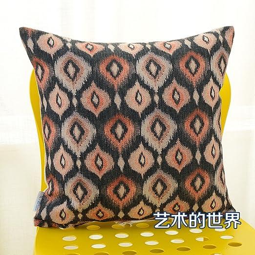 funda de almohada de algodón geométrica simple nórdica ...