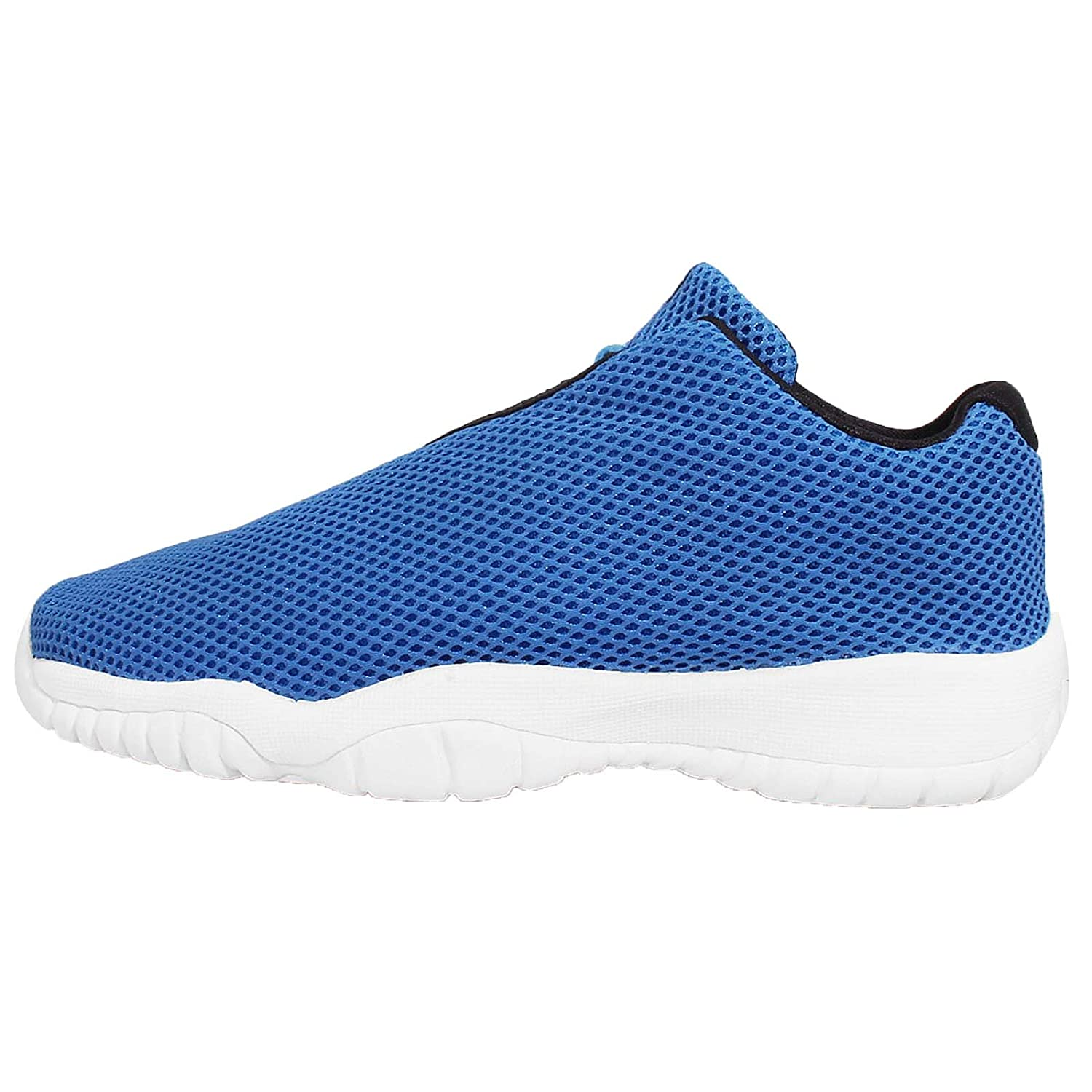 amazon com jordan kid s air future low bg photo blue black white rh amazon com