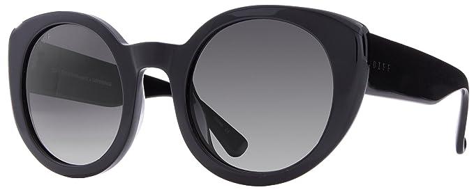 0f33fef996 Amazon.com  DIFF Eyewear  Luna - Designer Round Sunglasses - 100 ...