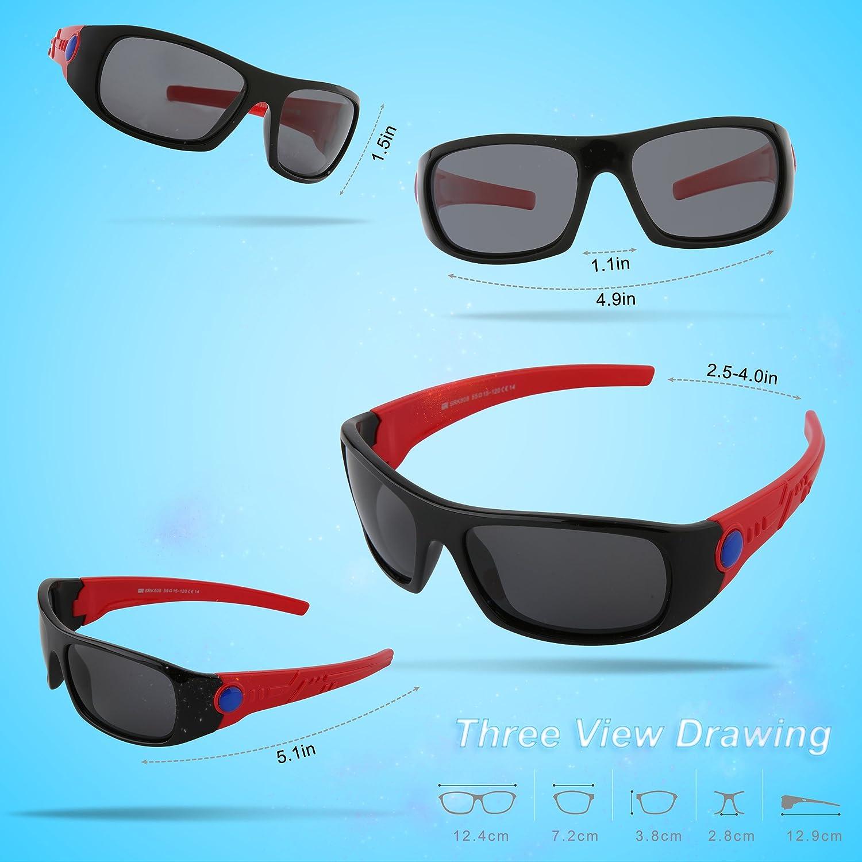 Amazon.com: SEEKWAY SRK816 Gafas de sol polarizadas para ...