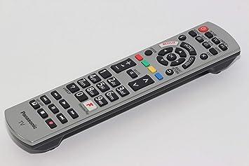 Panasonic N2QAYB001179 - Mando a Distancia para televisor, Color Plateado: Amazon.es: Electrónica