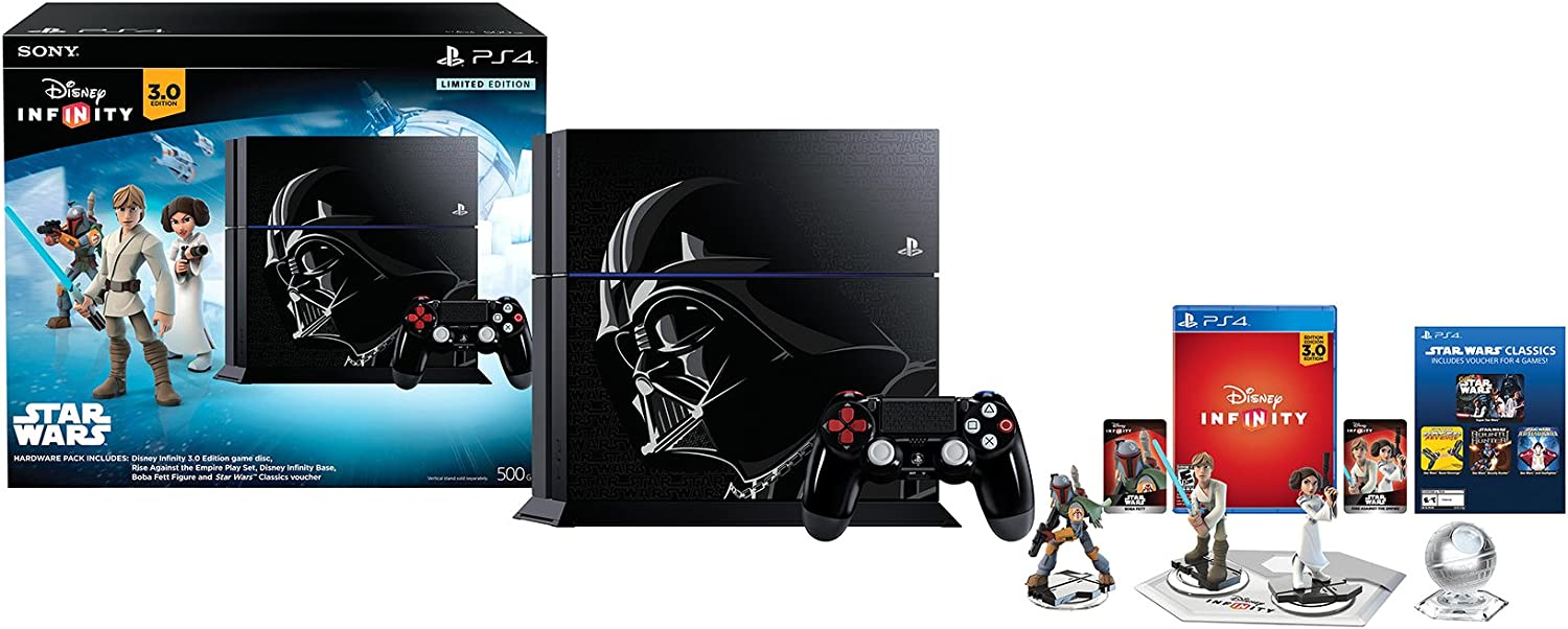 Sony PlayStation 4 500 GB + Disney Infinity 3.0 Negro Wifi ...
