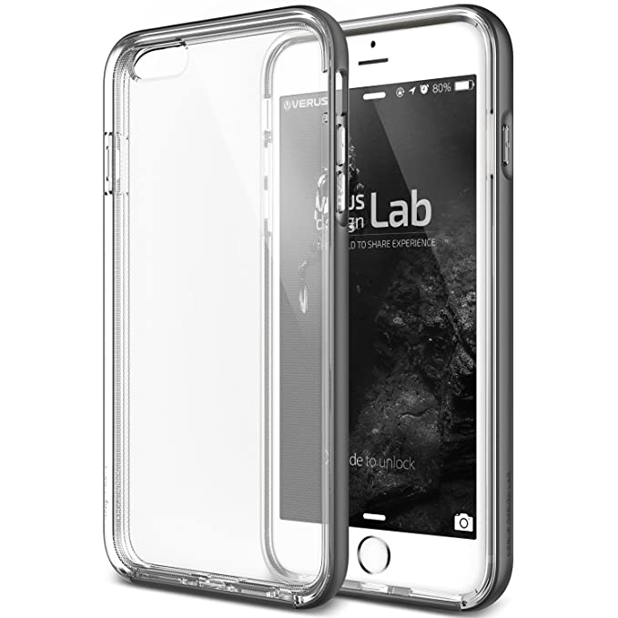 best loved 82164 53b88 iPhone 6S Plus Case, Verus [Crystal Bumper][Steel Silver] -  [Clear][Military Protection] For Apple iPhone 6 6S Plus 5.5