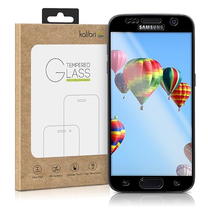 3 opinioni per kalibri Samsung Galaxy S7 Pellicola vetro- protezione 3D Full Screen Protector-