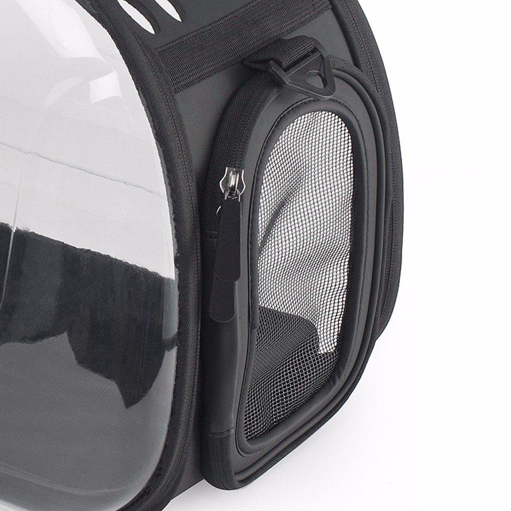 CWDYP In Pet Bag Bar pieghevole portatile Pet Bag trasparente trasparente trasparente PET Bag Borsa Gatto Cane Animale Domestico facile da indossare 4c0151