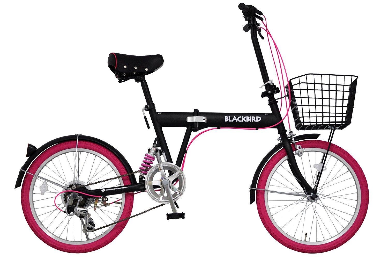 アニマート(ANIMATO) 折りたたみ自転車 BLACKBIRD  ピンク B013I7H12G