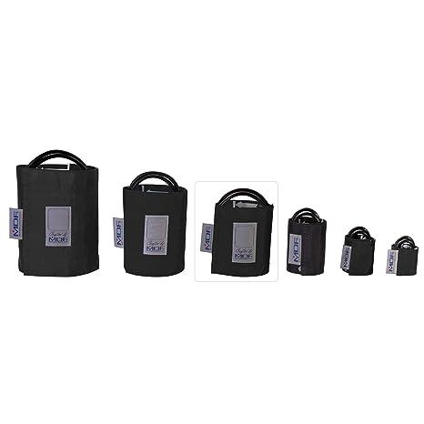 MDF® Adulto - Doble tubo Manguito sin látex para presión arterial - Negro (MDF2100450