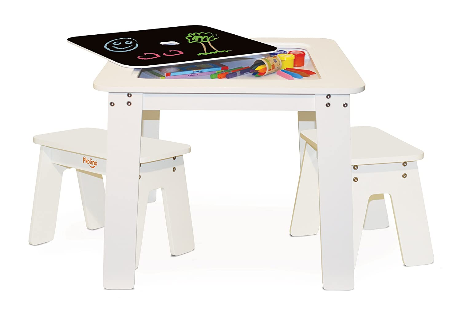 P'kolino PKFFCTOR Craft Table, Orange P' kolino PKFFCHTWHT
