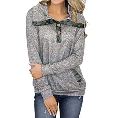 7a35e4f39d304 VonVonCo Pullover Sweaters for Women, Women Long Sleeve Casual ...