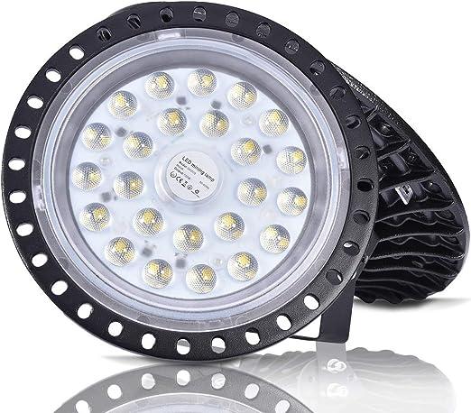 Luces LED de alta Bahía UFO 500W 300W 200W 100W 50W LED Luminaria de tienda de Almacén