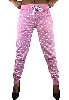 Damen Jogginghose Sporthose Fitness Sport Schlafanzug Hose Trainingshose
