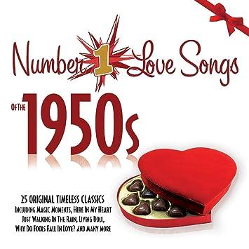 No 1 love songs