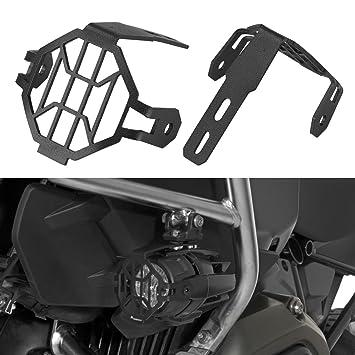 SUPAREE Luces de niebla de la motocicleta LED Protector de parrilla Protector