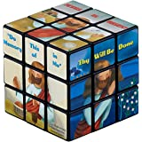 Jesus Loves Me Puzzle Cube for Kids, 2 1/2 Inch