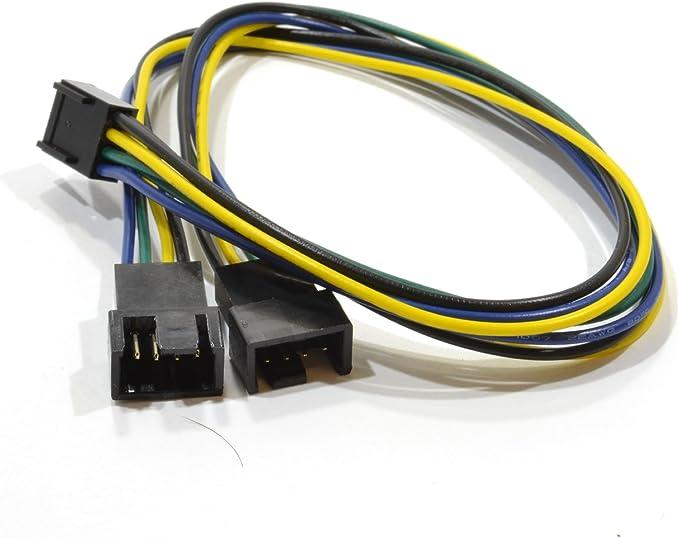 kenable Caja Ventilador para PC Torre 120 mm x 120 x 25 mm