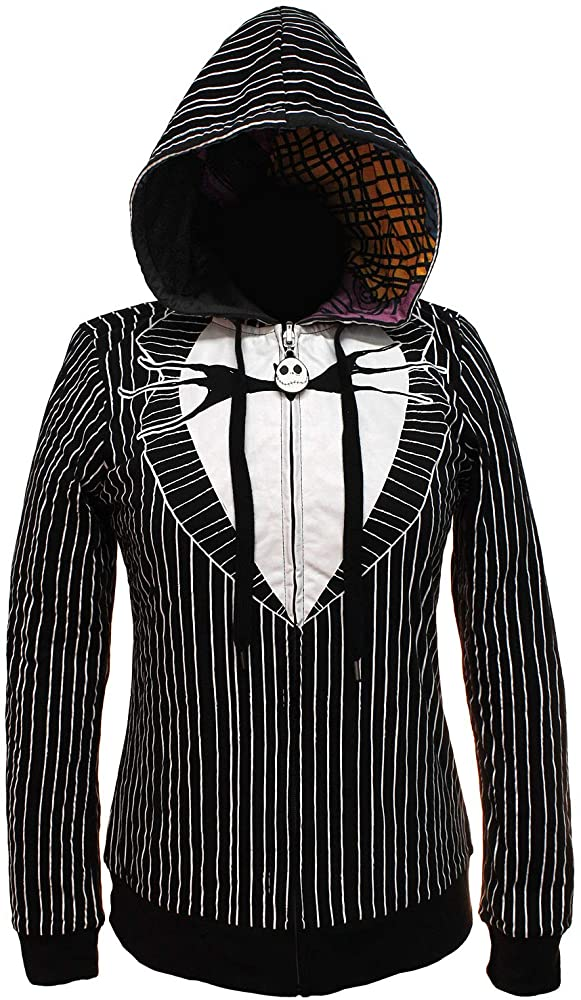 Details about  /Nightmare Before Chrismas Hooded Jack Cosplay Tee  Several Junior sizes