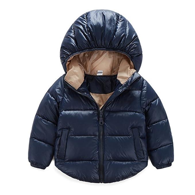090e2284b Kids Baby Boy Winter Puffer Coat Thicken Padded Down Coat Outwear ...