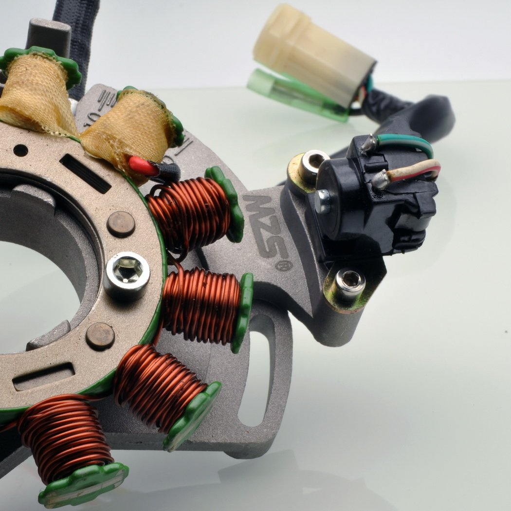 MZS 21-903H Stator Electric Plate for Yamaha Banshee 350 YFZ YFZ350 1987 1988 1988 1989 1990 1991 1992 1993 1994