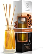 Cinnamon Reed Diffuser w/Natural Essential Cinnamon Oil 100ml - Fresh &