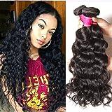 Ali Julia Hair 10A Brazilian Virgin Natural Wave Weave 1 Bundle 100% Unprocessed Human Hair Weft Extensions 95-100g/pc Natural Color