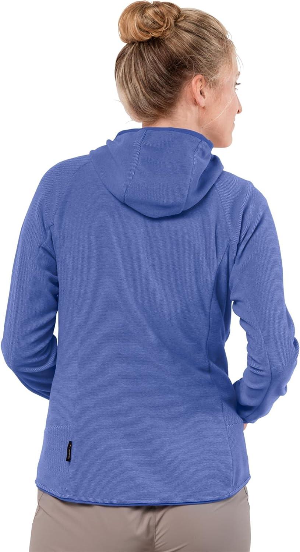 Jack Wolfskin Arco Women's Jacket Fleece Jacket Baja Blue Stripes