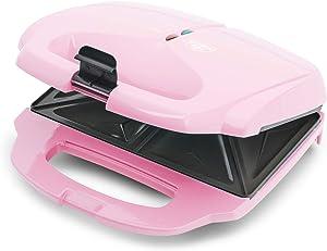 GreenLife CC003740-002 Sandwich Pro Healthy Ceramic Nonstick, Maker, Pink