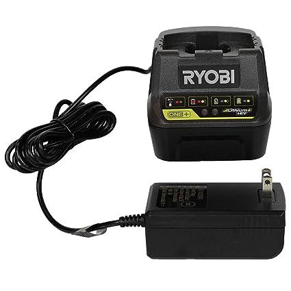 Amazon.com: Ryobi P118B - Cargador de batería (18 V): Home ...