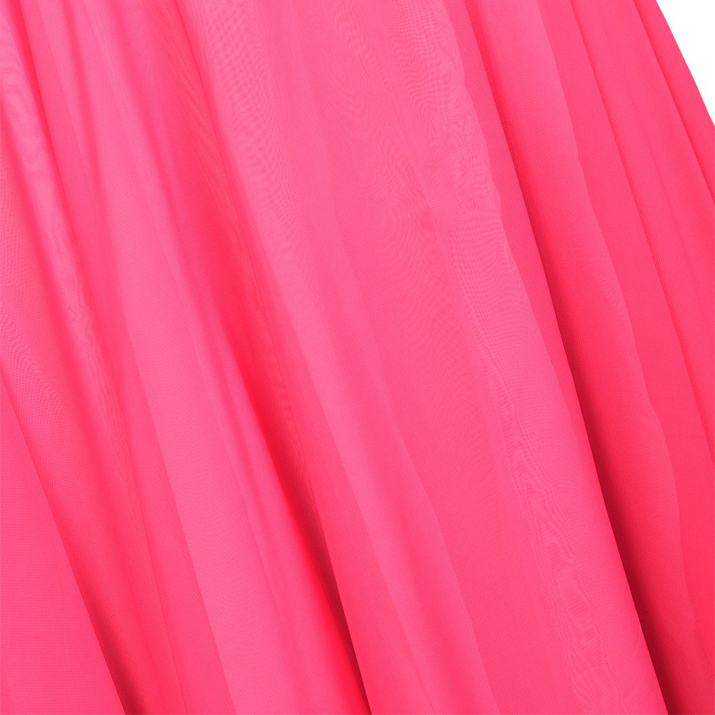 ROYAL SMEELA Jupe de Danse du Ventre pour Femme Jupes Longues en Mousseline Couche Double Volants Jupe Longue Grande balan/çoire Entra/înement de Danse Robe de Costume
