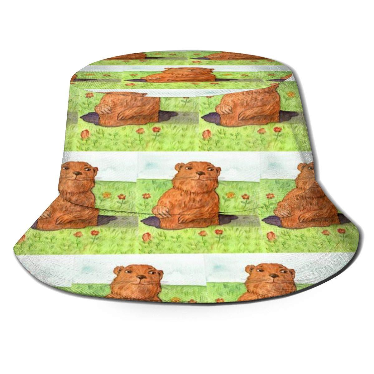 Unisex 100/% Polyester Groundhog Day Mesh Hat Adjustable Trucker Baseball Cap for Unisex