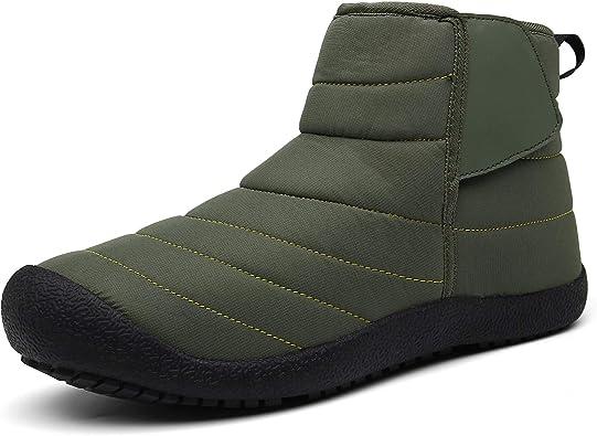 Hxlber Snow Boots for Men Women Outdoor