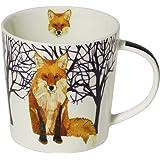 Tasse à thé en porcelaine renard d'hiver, 0,3l
