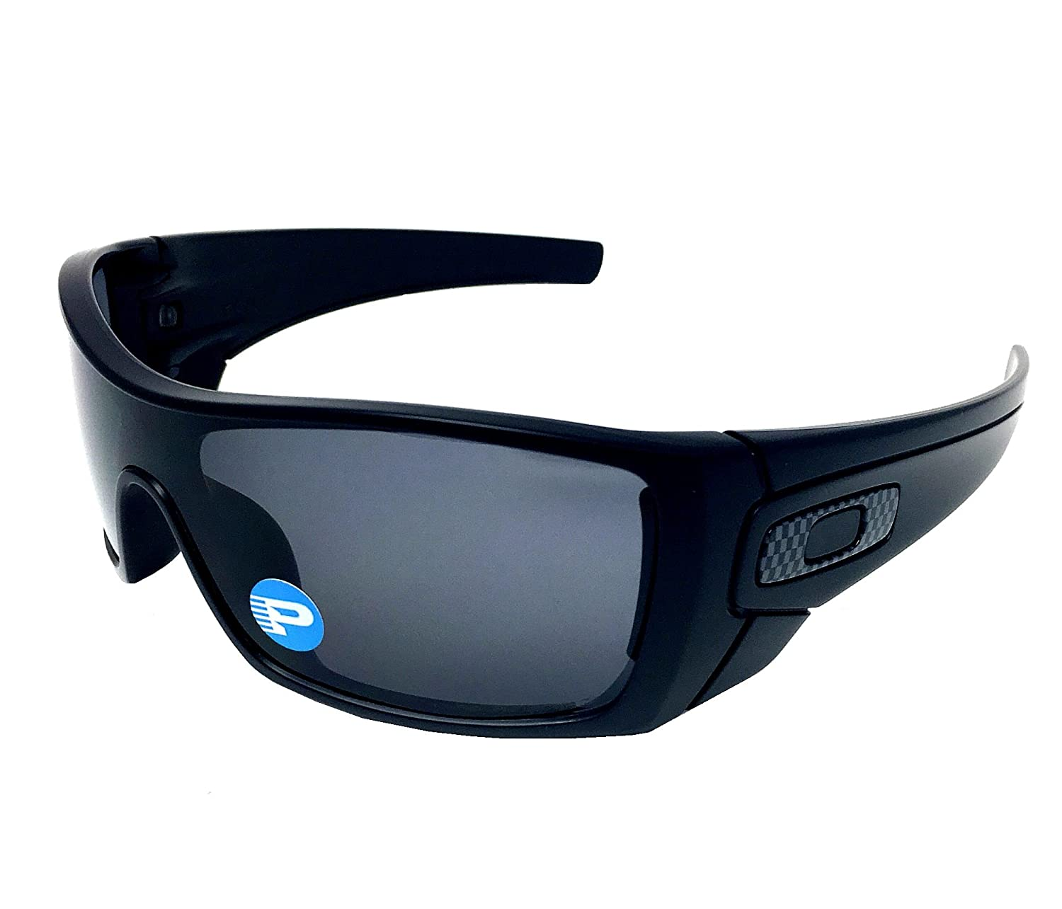 Oakley Batwolf 9101-04 Matte Black  Grey Polarized Sunglasses  Amazon.ca   Sports   Outdoors feb5f51501