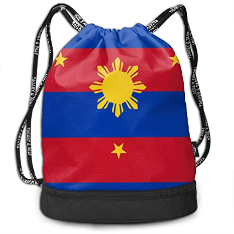65c9b9b76e73 Image Unavailable. Image not available for. Color  Originality Philippines  Flag Drawstring Bag Rucksack ...