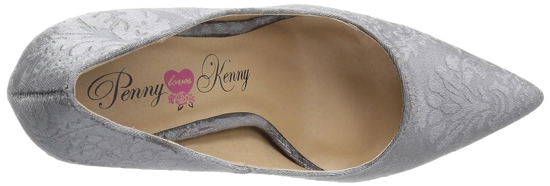 Penny Loves Kenny Women's Opus BV Pump B071V63DK8 12 W US|Grey Velvet