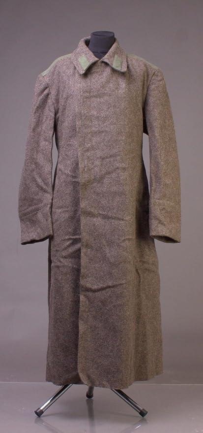 d5d9fa4261 Amazon.com: long overcoat men XXXL wool 1990s Vintage USSR Military ...