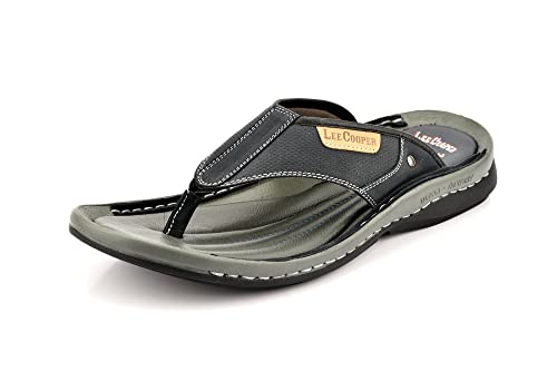 e91b3d7112a Lee Cooper Men s Leather Slippers  Buy Online at Low Prices in India ...