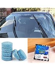 Kaimus Limpiador de vidrios de Autos sólidos Limpiador de limpiaparabrisas Concentrado tabletas efervescentes Cuidado de Coche