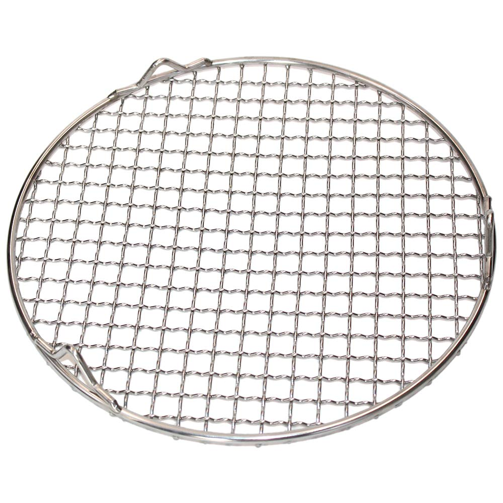 M-Aimee 1Pack Multi-Purpose Round Stainless Steel Cross Wire Steaming Cooling Barbecue Racks/Carbon Baking Net/Grills/Pan Grate with Legs (Diameter 10 Inches) by M-Aimee (Image #2)